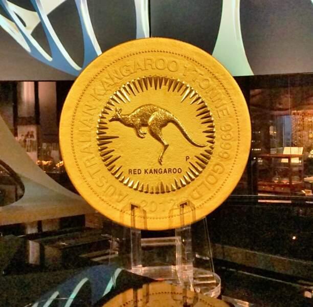 Une tonne : le poids de la plus grande pièce d'or du monde