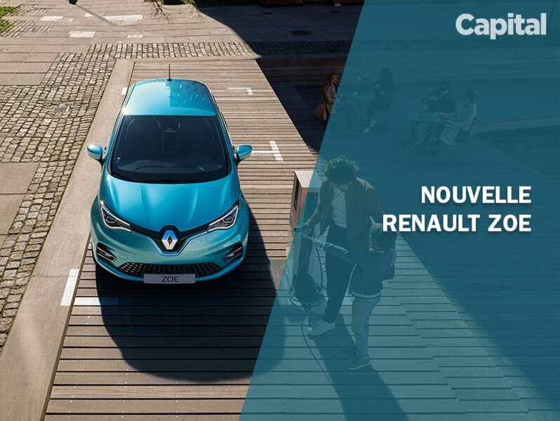 La nouvelle Renault Zoe 2019 en images