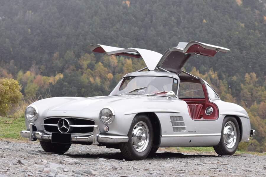 """5. Mercedes-Benz 300 SL """"Papillon"""" de 1955"""