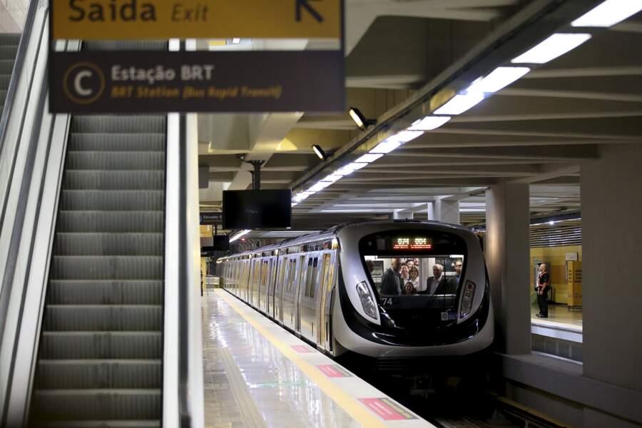 La nouvelle ligne du métro nécessite encore des travaux