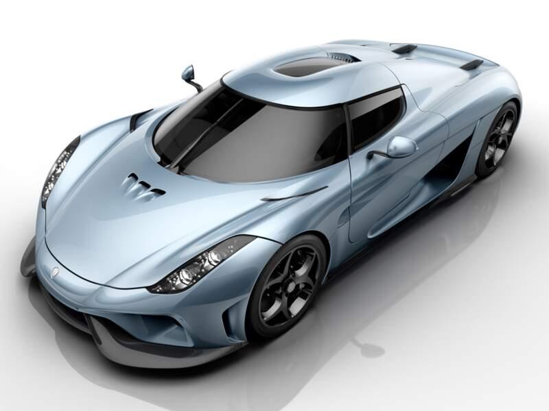 Koenigsegg Regera : le bolide de tous les excès (de vitesse)