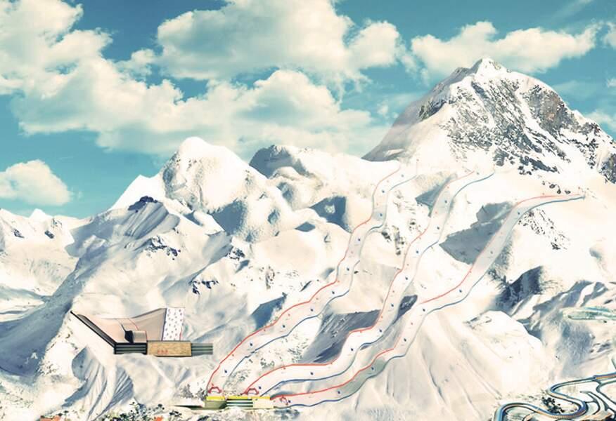 450.000 mètres cubes de stocks de neige