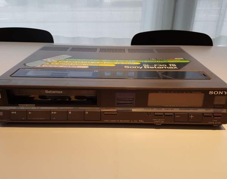 Enregistreur Sony Betamax