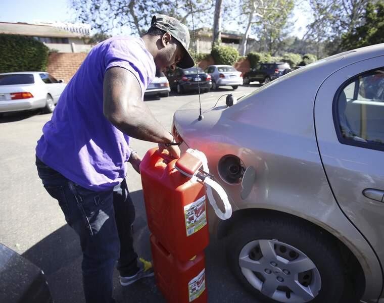 PURPLE: Livraison d'essence
