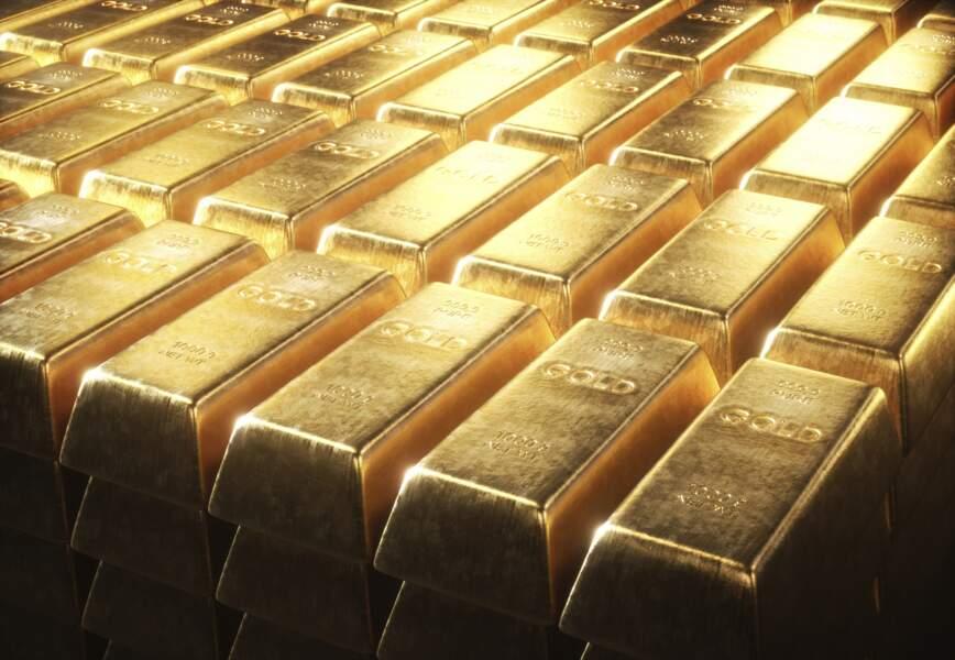 … Et ceux de l'or aussi !