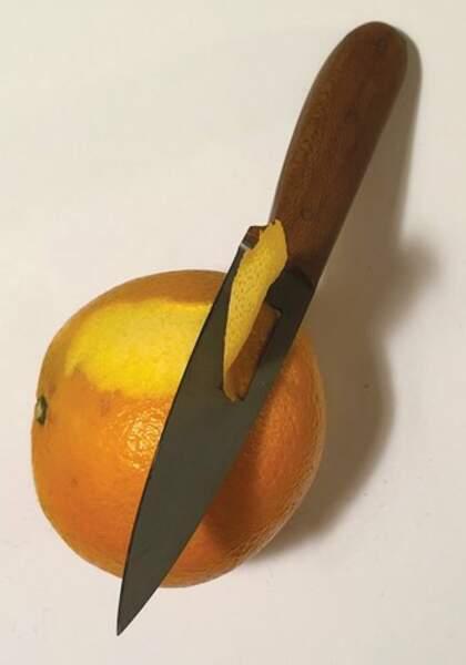 Le couteau-éplucheur