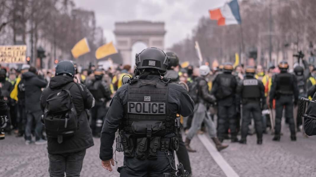 15. Agent de police : 34% de chances d'être remplacé