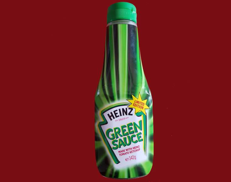 Ketchup vert Heinz