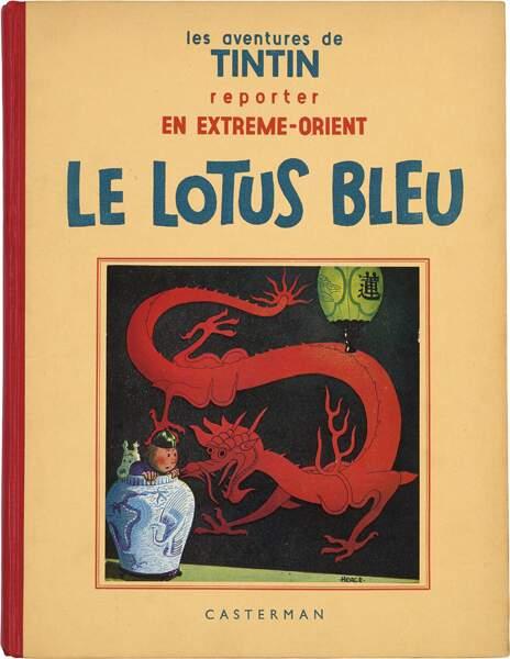 """Hergé : L'album """"Le Lotus Bleu"""""""