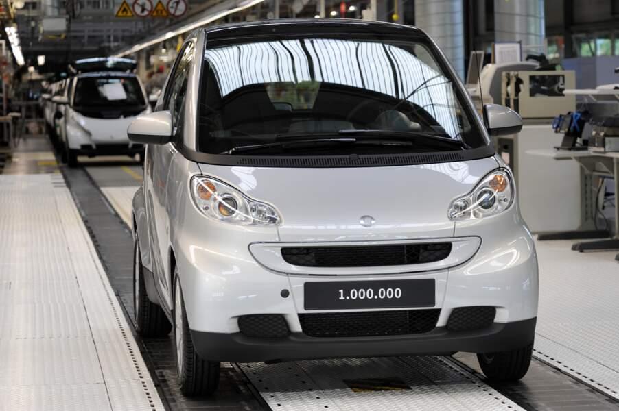 Smart fortwo coupé : à partir de 500 euros