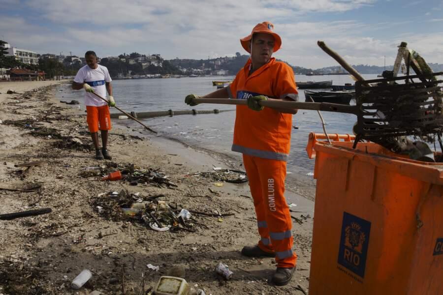 La Marina da Gloria et la baie de Guanabara suscitent des craintes parmi les spécialistes de la voile