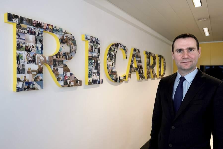 15. Alexandre Ricard (Pernod Ricard)