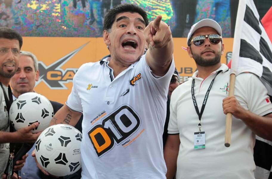 Diego Maradona, la légende argentine