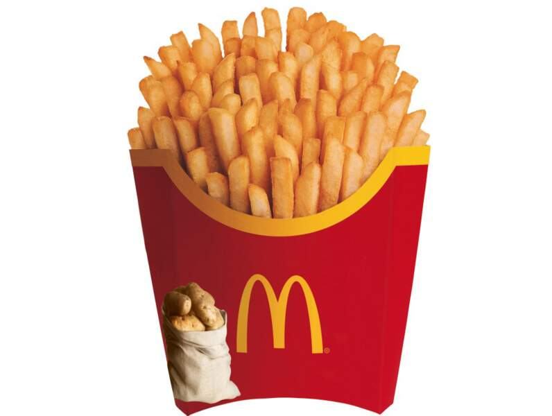 Grande frite : 85% de marge sur les French fries