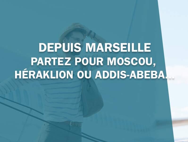 Marseille fait le plein de nouvelles liaisons