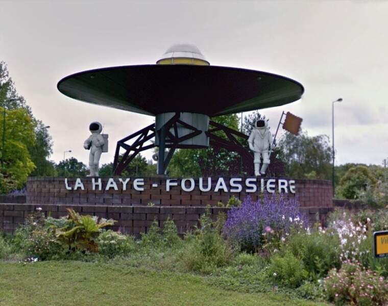 La soucoupe volante de La Haye-Fouassière (dans la Loire-Atlantique)