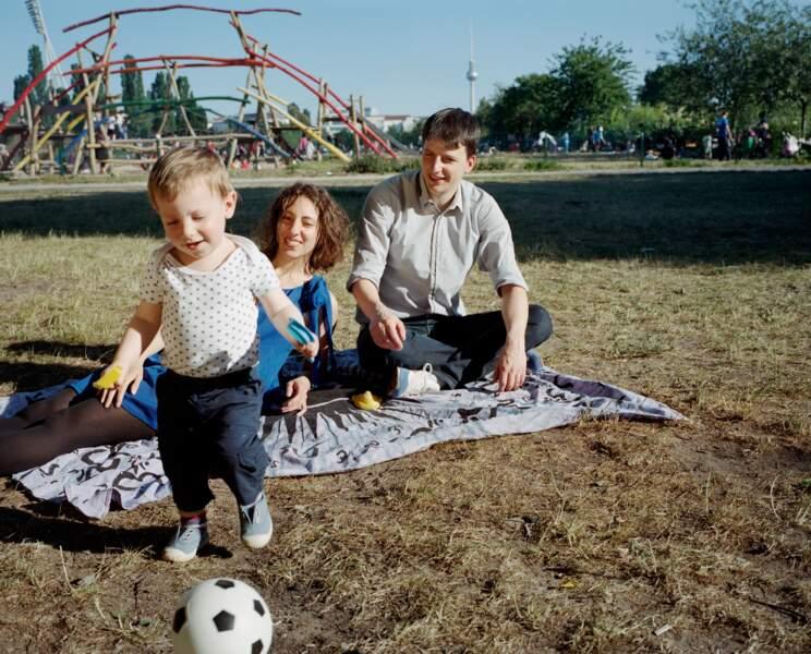 Myriam et Thomas Bores, Berlin : élever ses enfants
