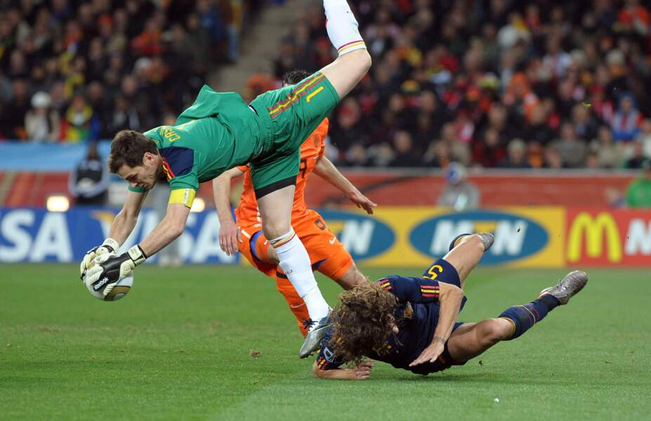 Finale de la Coupe du monde de 2010 : Espagne 1 - Pays-Bas 0