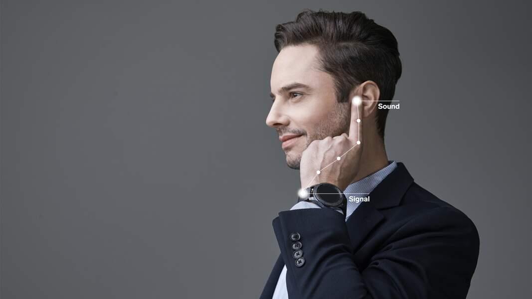Un bracelet pour téléphoner avec son doigt
