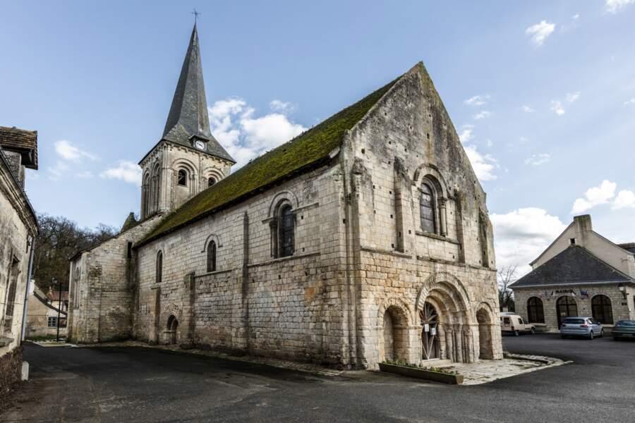 Centre-Val de Loire : Église Notre-Dame de La Celle-Guénand