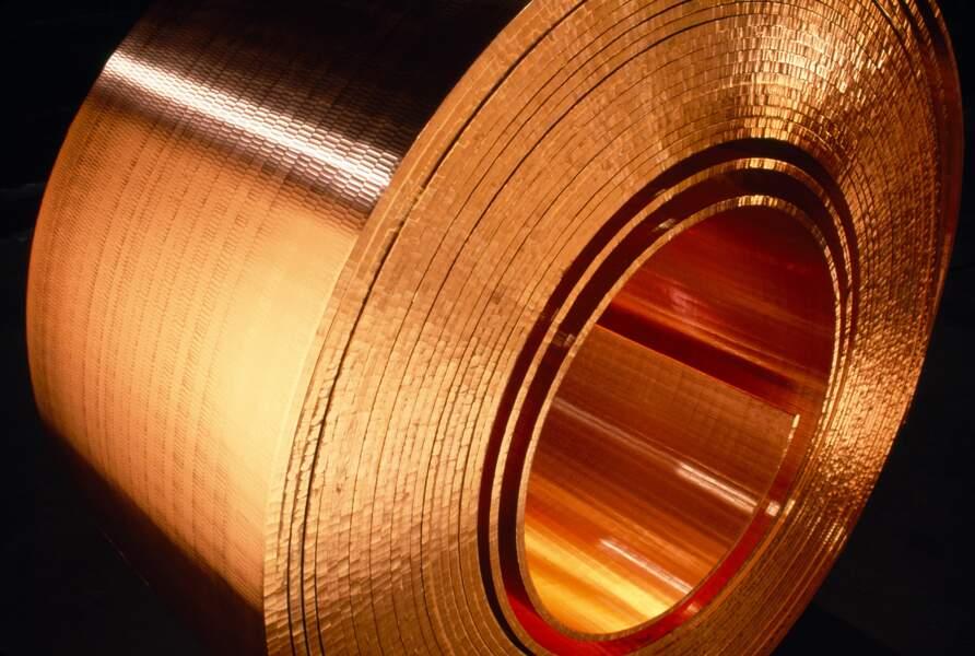 8 raisons de miser sur le cours du cuivre, voici comment