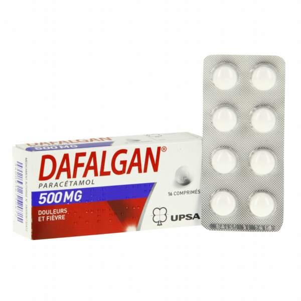 À privilégier : Dafalgan, 16 comprimés