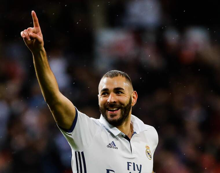 N°5 : Karim Benzema (football)