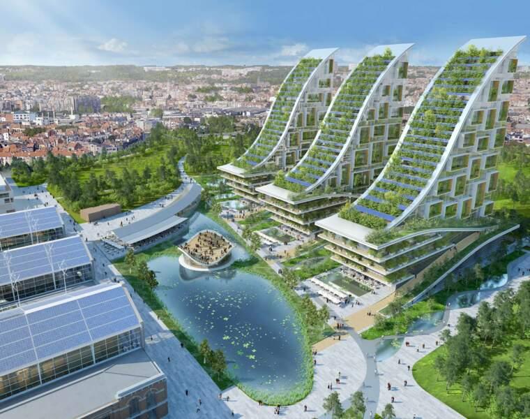 Tour & Taxis, un éco-quartier futuriste à Bruxelles