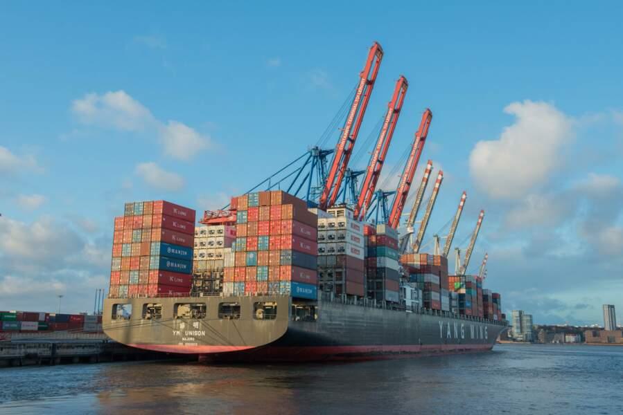 La Chine est devenue le premier exportateur mondial