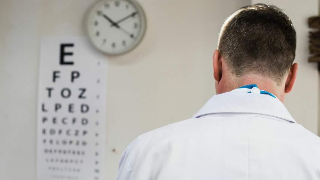 5. Ophtalmologue : 12.582 euros par mois