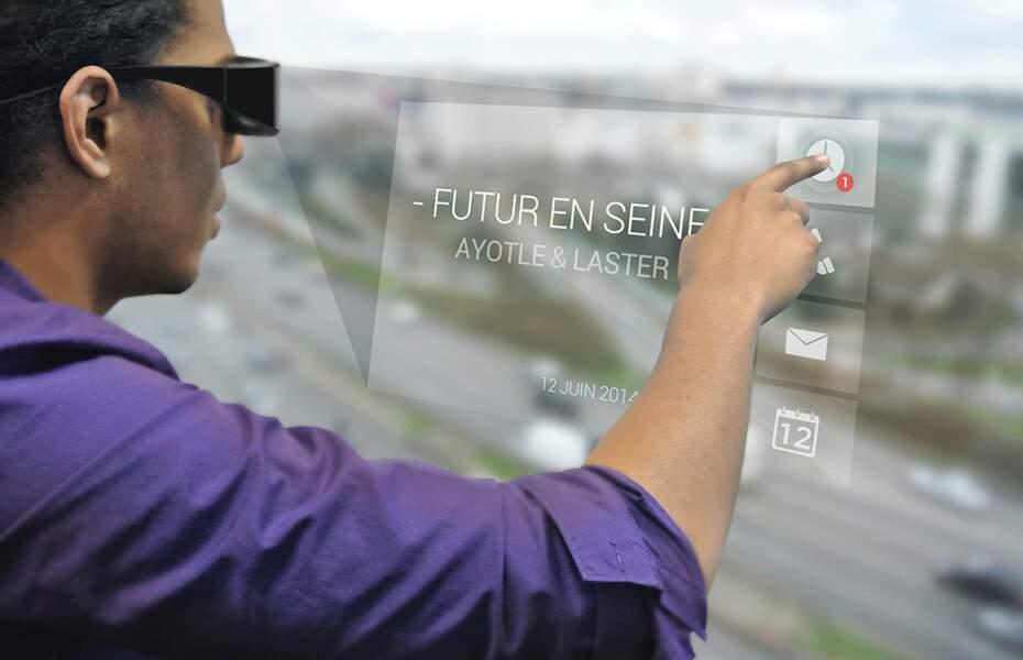 T-Glasses, les lunettes 3D avec commande gestuelle