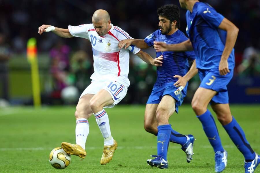 Finale de la Coupe du monde de 2006 : Italie 1 - France 1 (5-3 aux tirs au but)