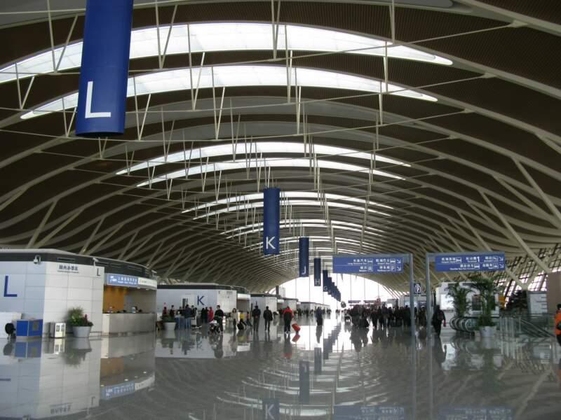 9ème : Aéroport International de Shangaï-Pudong (Chine)