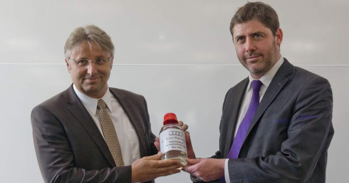 Global Bioenergies transforme le sucre en essence
