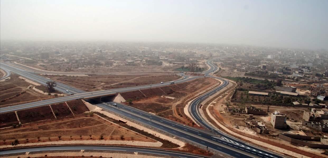 Autoroute Dakar-Diamniado au Sénégal (2013)