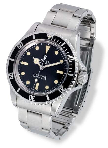 6.000 euros : Rolex Submariner Oyster Perpetual 5513