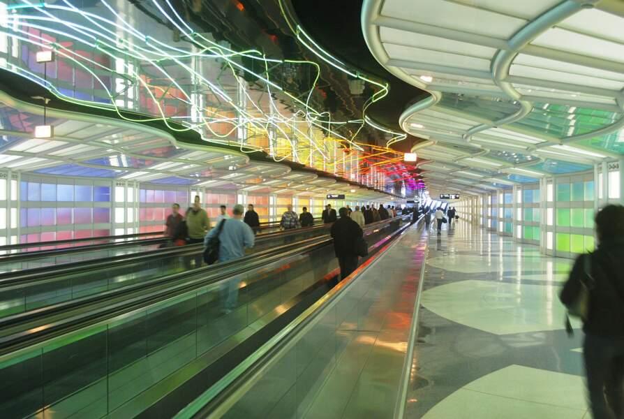 6ème : Aéroport International de Chicago (Etats-Unis)