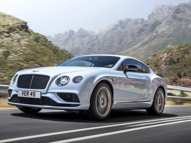 Bentley Continental GT : un coup de pinceau pour la gamme phare de la marque