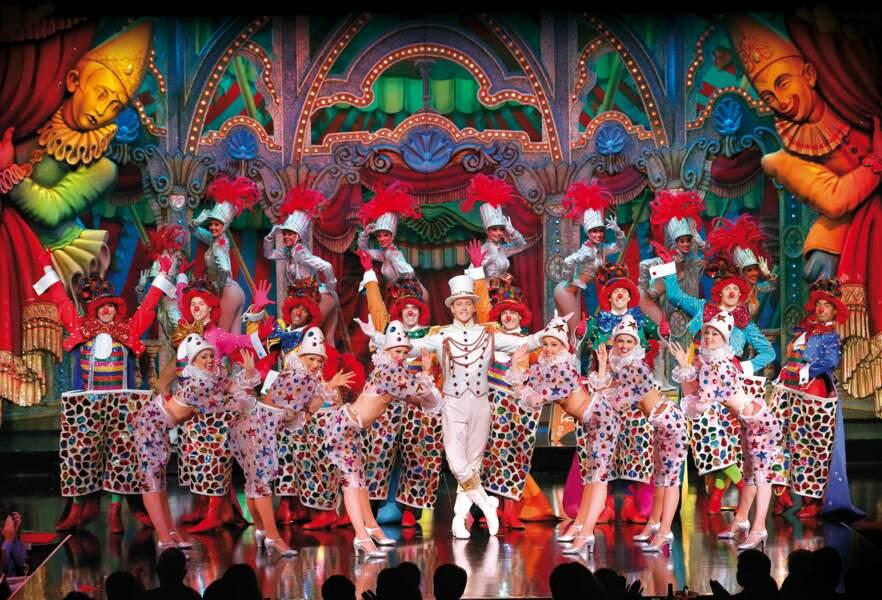 100 artistes, dont 60 Doriss Girls et 20 Doriss Dancers