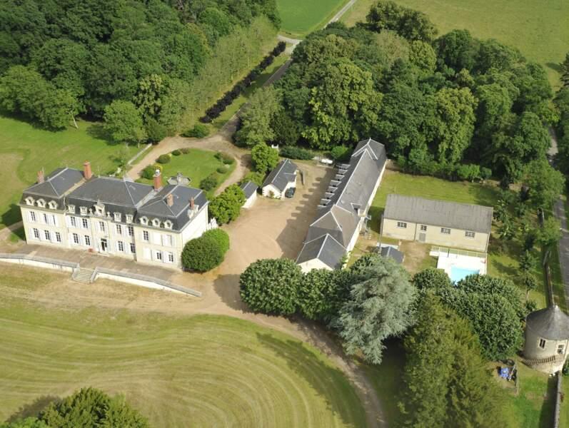 Le château du Vernay du CE SNCF