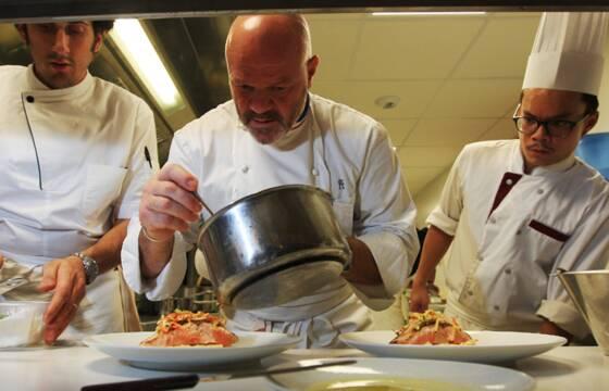 Philippe etchebest chef en cuisine et l 39 cran il suffit de se parler pour teindre le feu - Recette cauchemar en cuisine ...