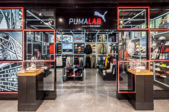magasin puma londres
