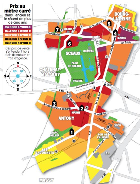 Ville Antony Plan