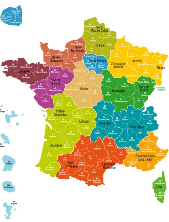 Nouvelles Regions Les Plus Riches Les Plus Peuplees Et Les Plus
