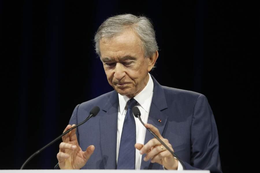 Bernard Arnault, P-D.G. de LVMH
