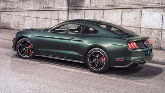 SP- Ford- Mustang Bullitt 2018