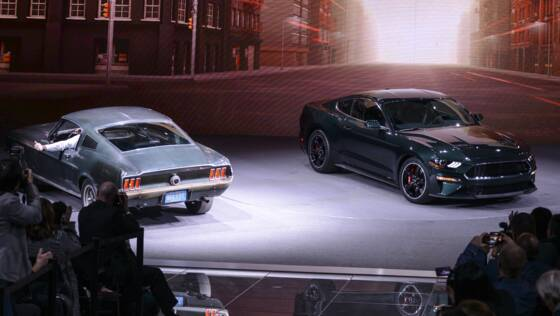 ford mustang bullitt la l gende enfin disponible en france. Black Bedroom Furniture Sets. Home Design Ideas