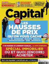 Couverture du dernier numéro de Capital