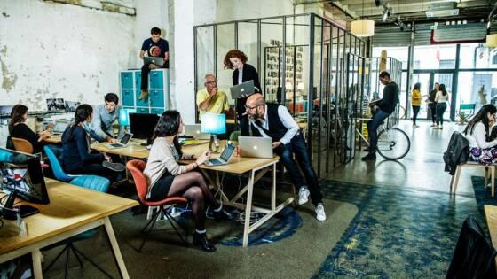 Espace co working les bureaux partagés u up u rome on behance