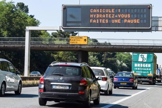 La France respire de nouveau mercredi — Canicule